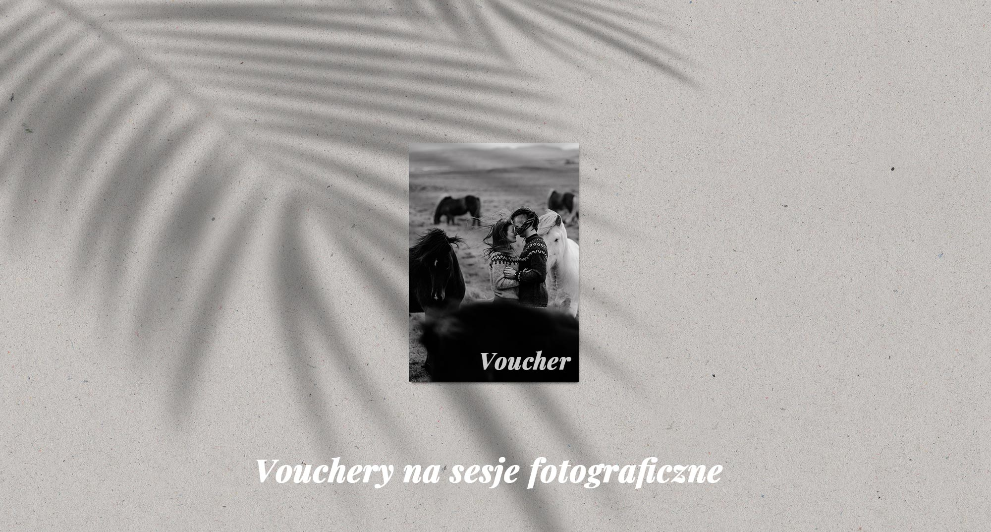 Vouchery na sesję fotograficzne